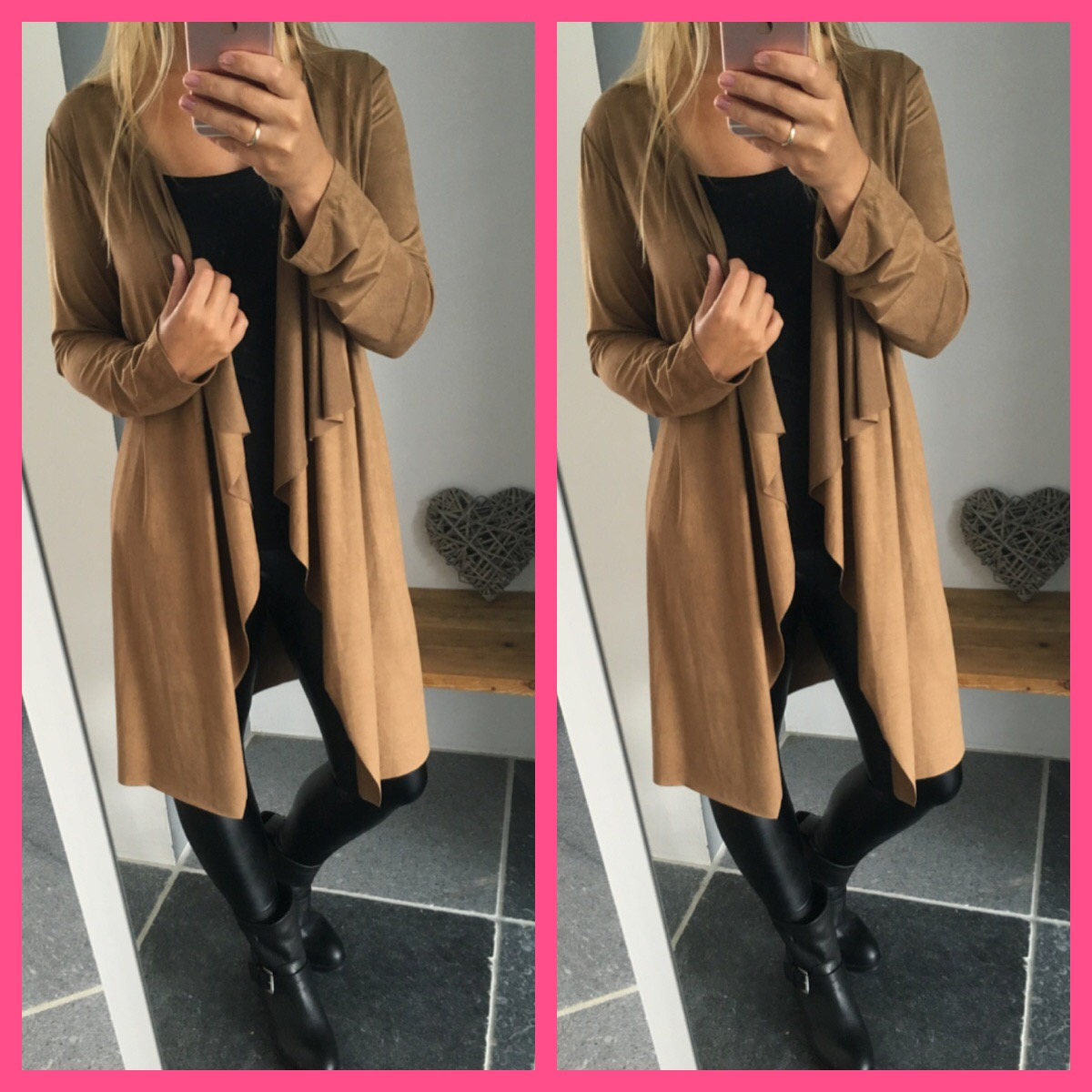 Suedine Blazer Camel | Musthaves For Real